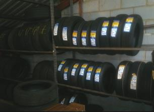 Tyres in stock at Airdrome Cars, Harlow
