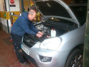 Serviceing by skiled technicians at Airdrome Cars