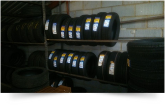 Tyres in stock at Airdrome Cars Sawbridgeworth